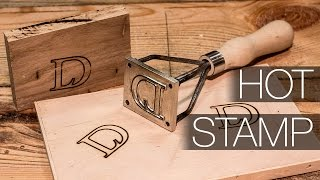 Making a Hot Stamp (Branding Iron)