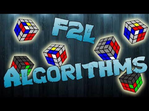 F2L Algorithms [EASY CASES]