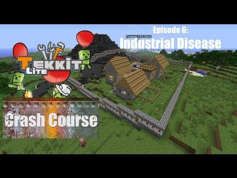 Tekkit Lite Crash Course 06: Industrial Disease