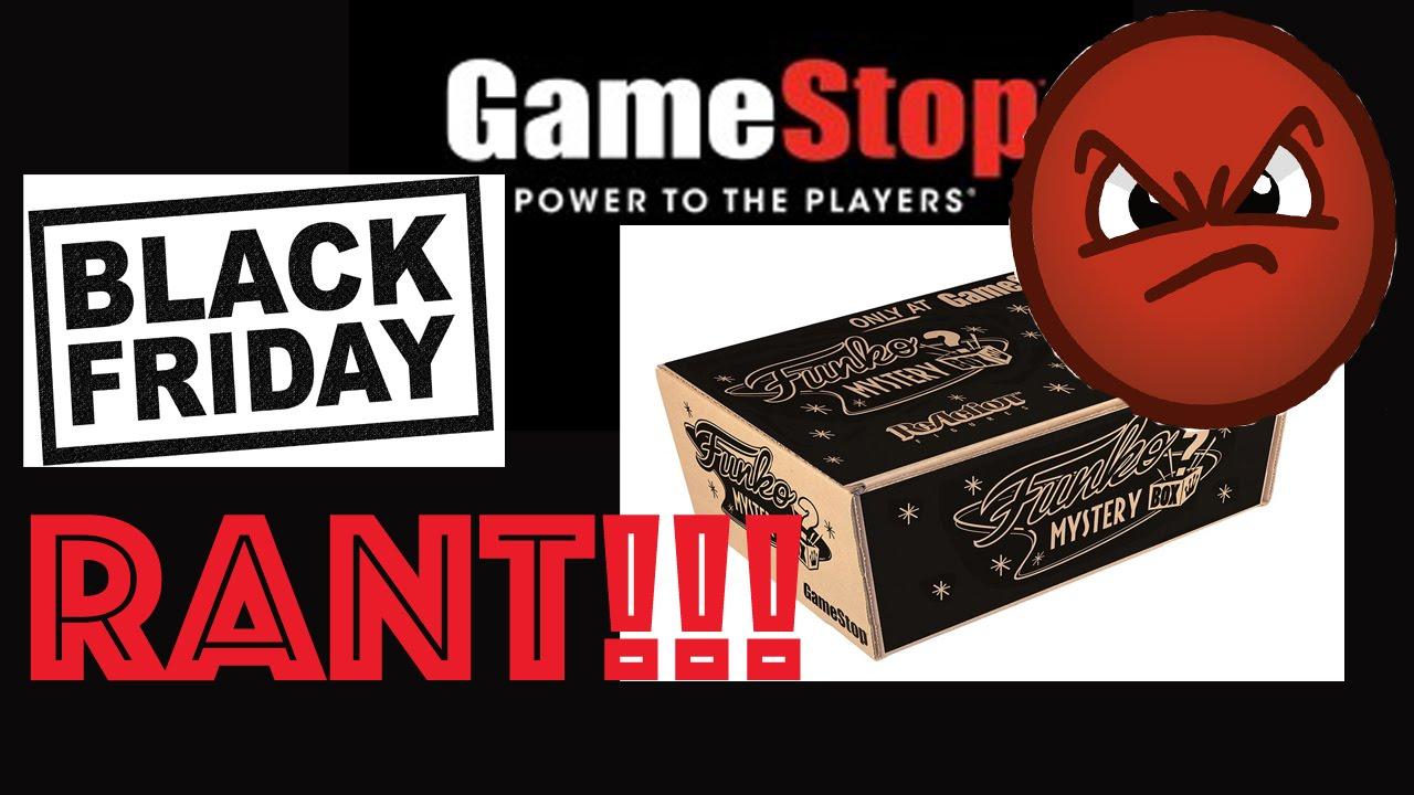 Gamestop Black Friday Funko Mystery Box Rant Youtube