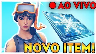FORTNITE | NOVO ITEM! | CONSTRUIR PARA DESTRUIR | 500 WINS | LIVESTREAM