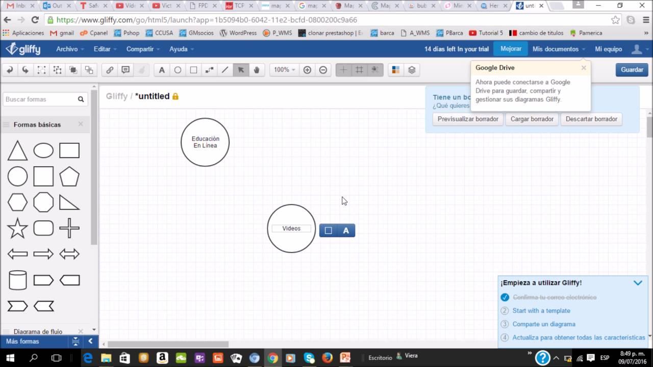 Crear Mapas Conceptuales Online