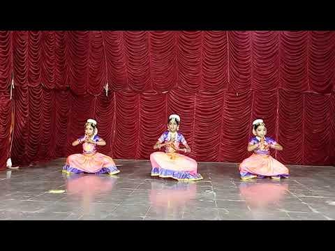 Bharatanatyam dance to Saraswati Vandana