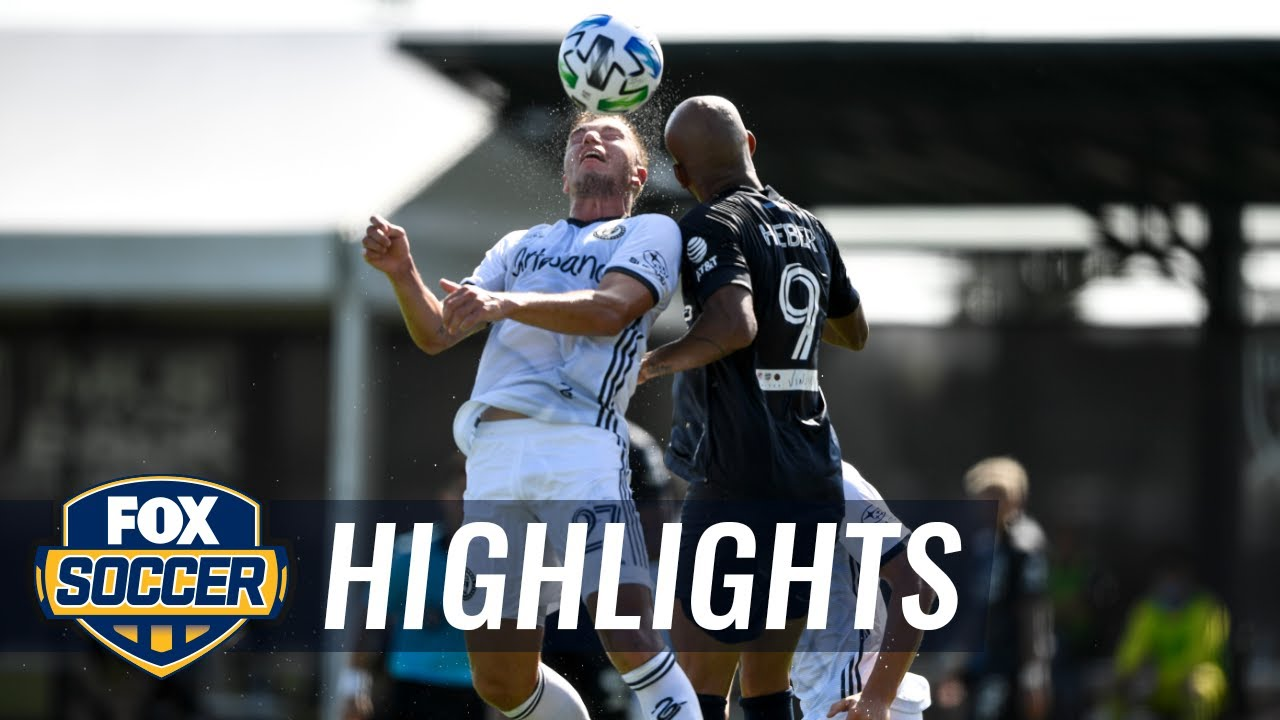 Philadelphia Union defeat NYCFC in MLS is Back, thanks to Bedoya's tally | 2020 MLS Highlights