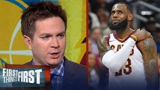 Chris Mannix reveals why Warriors will defeat LeBron's new-look Cavs for title | FIRST THINGS FIRST