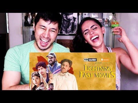 AIB : LIGHTNING FAST MOVIES  Reaction w Nishi Munshi!