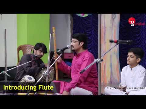 Lecture and demonstration of Indian Flute by Vivek Sonar organised by myGurukul