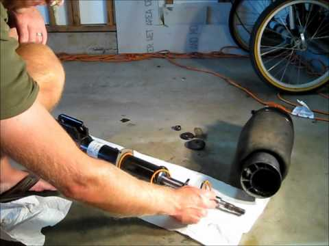 L322 Range Rover Air Spring Assembly Youtube