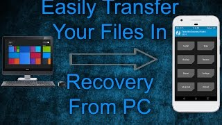 How to Transfer Files to Recovery Using ADB | Move Files In TWRP Recovery Using ADB Command2017/2018