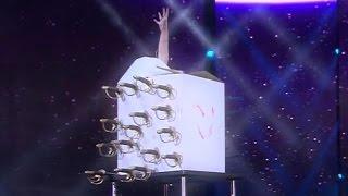 Amazing Sword Box magic trick