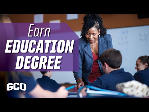 Earn Your Education Degree Online | Grand Canyon University