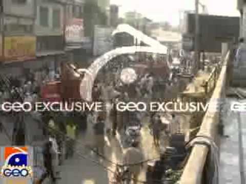 Geo Dost DASKA... video of TMA demolished a market- Aap ki apni Khabar.flv