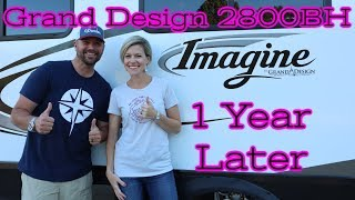 Grand Design Imagine 2800BH... 1 year update... Likes vs Opportunities