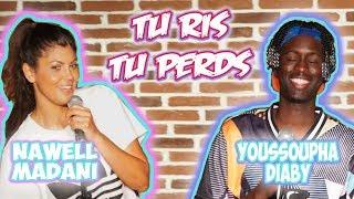 NAWELL MADANI VS YOUSSOUPHA DIABY - TU RIS TU PERDS (live sur scene à Marseille)