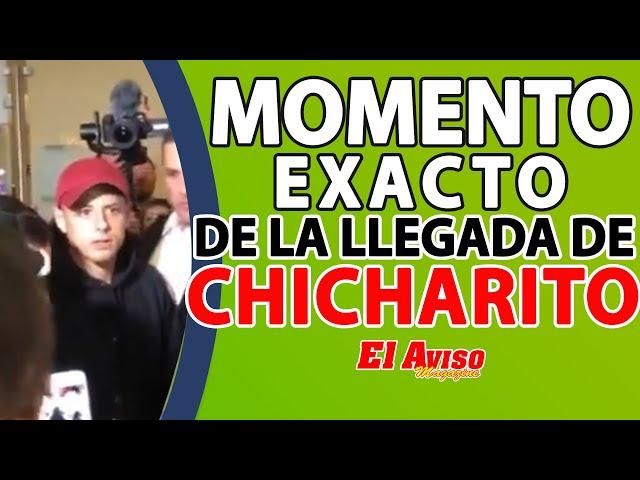 CHICHARITO LLEGANDO A LOS ÁNGELES (MOMENTO EXACTO) / #Chincharito arriving to LA - El Aviso Magazine