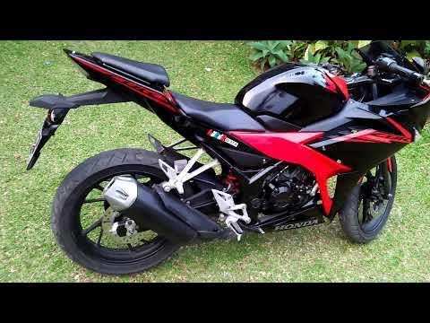 Modifikasi Cbr 150 R Red Black Simple Tapi Sangar