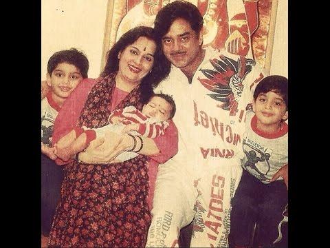shatrughan sinha family biography for kids