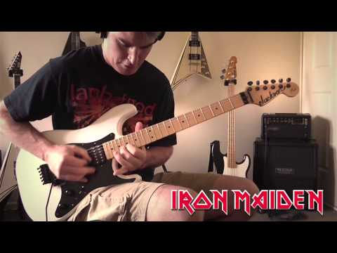 Iron Maiden   Speed of Light Guitar Cover
