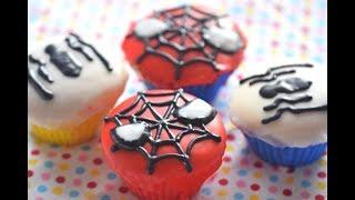 オーブンも、絵心も、必要ない♪ Spider Man(スパイダーマン)デコレー...