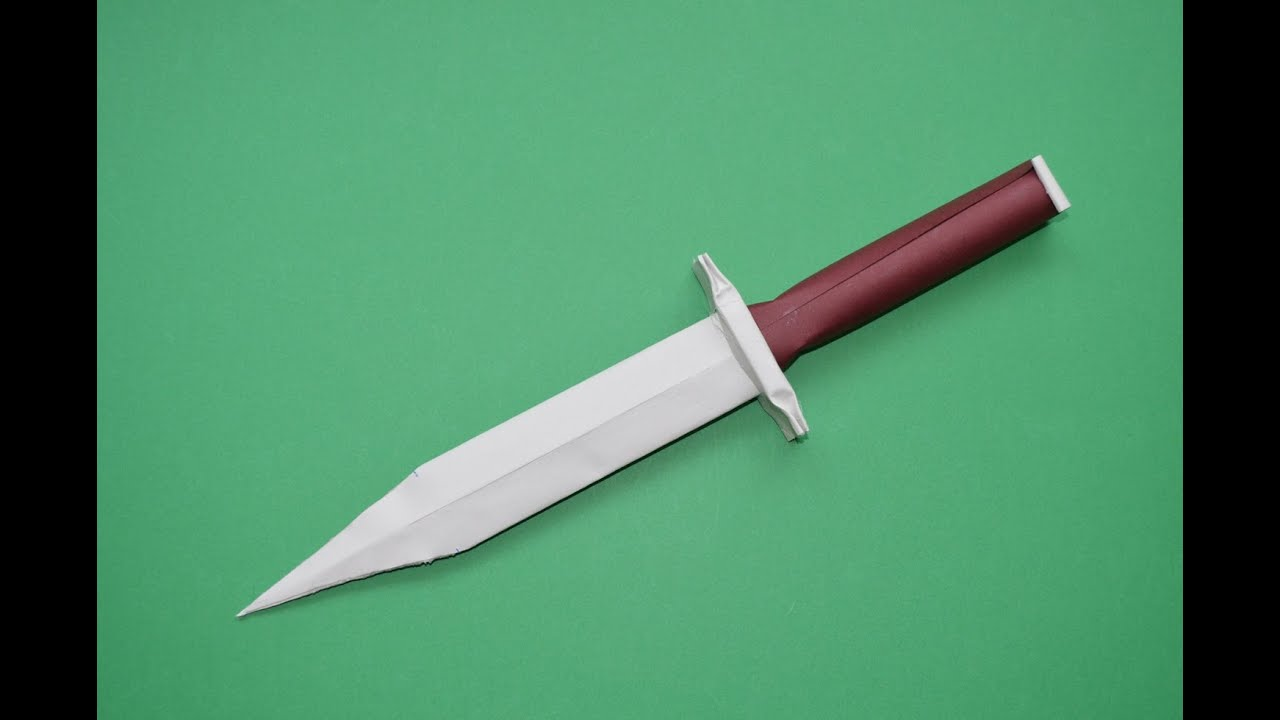 How To Make A Paper Knife Easy Tutorials