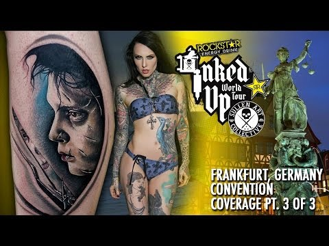Rockstar Energy Inked Up Tour Tattoo Convention Coverage Frankfurt part 3 of 3