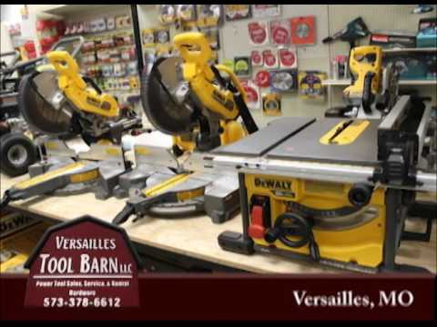 Versailles Missouri's Versailles Tool Barn on Our Story's the Celebrities