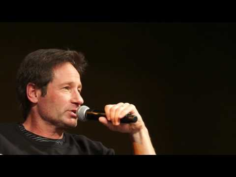 David Duchovny says 'Trump has made conspiracies a lot less fun'