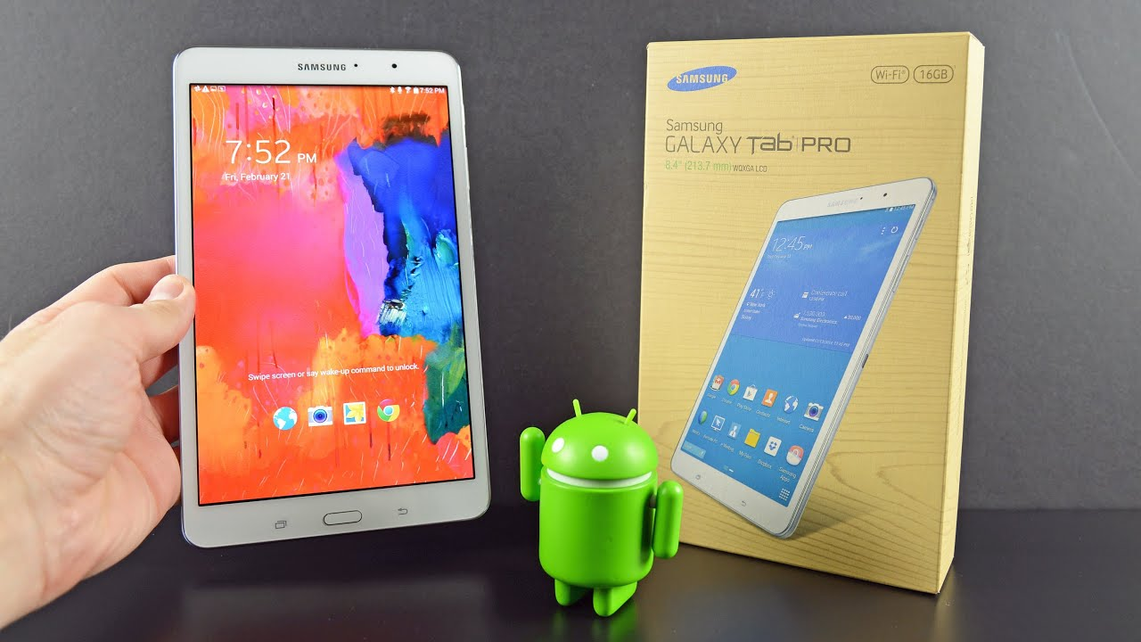 samsung galaxy tab pro 8 4 unboxing amp review   youtube