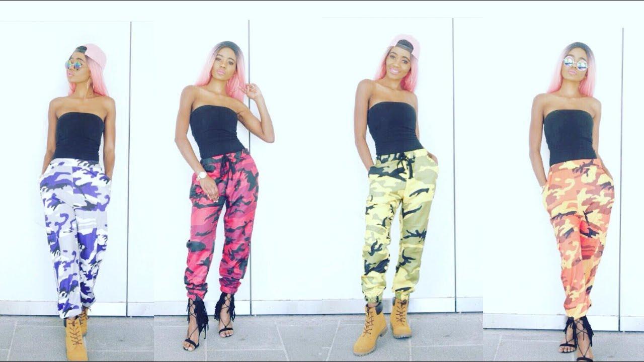 76adc6f11ce1f How I style : CAMO PANTS (Rothco Brand ) - YouTube