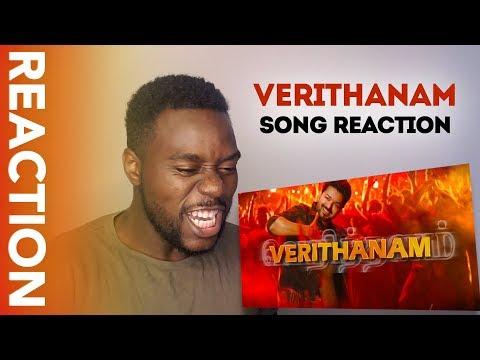 Download Lagu  VERITHANAM - BIGIL SONG REACTION | 100% Thalapathy MASS Mp3 Free