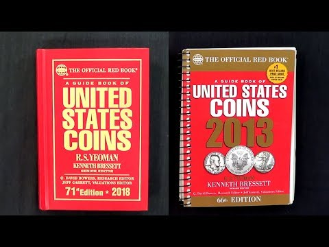 Catalog Of United States Coins 2018 Red Book
