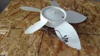 Como hacer un super generador  con un ventilador