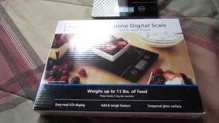 Mainstays Slimeline Digital Scale Review