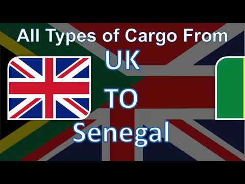 The Best Cargo and Parcel Shipping Services from UK to Senegal at the most Affordable Prices