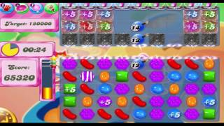 Candy Crush Saga Level 1602 (Timed Level) With No Boosters