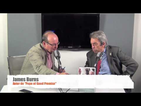 "James Burns, autor de ""Pope of Good Promise"""