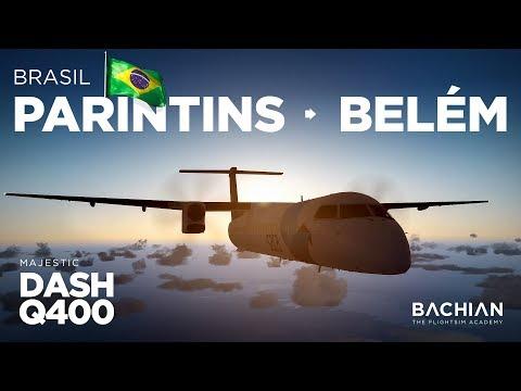Prepar3D - Dash-8 Q400 / Parintins → Belém