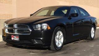2012 Dodge Charger SE - 8 Speed Transmission, Uconnect, Alloy Wheels, Sirius Satellite Radio