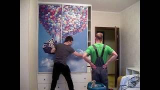 видео Шкаф купе в детскую