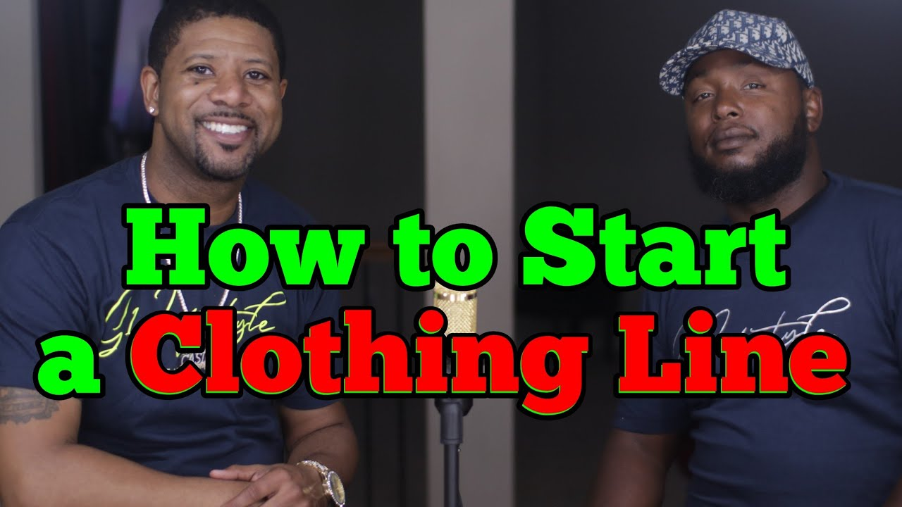 How to Start a Clothing Line, God 1st Clothing
