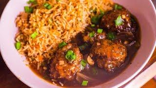Veg Manchurian Gravy Recipe | Restaurant Style