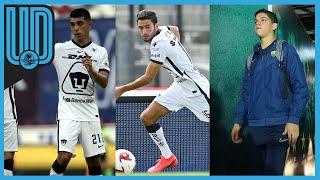 Pumas ha debutado a tres canteranos en las primeras dos fechas del torneo Guardianes 2020