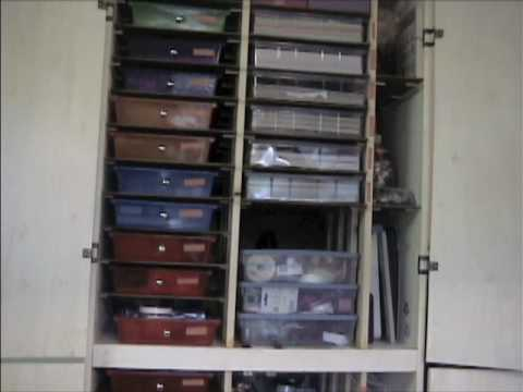 Stamping And Scrapbooking Cabinet Plans