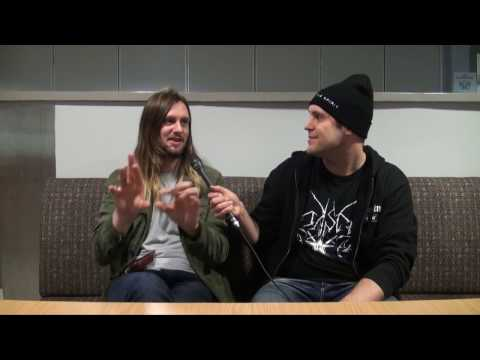 "While She Sleeps interview about ""You Are We"" @ Icehall Of Helsinki, Finland"