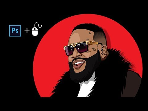 How To Cartoon Yourself In Adobe Photoshop (Rick Ross)