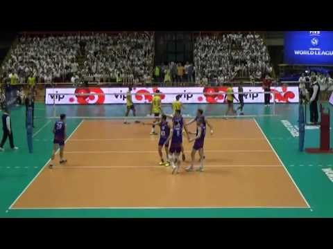 20 aces for Serbia at Serbia vs Brazil (2016 World League) !!!