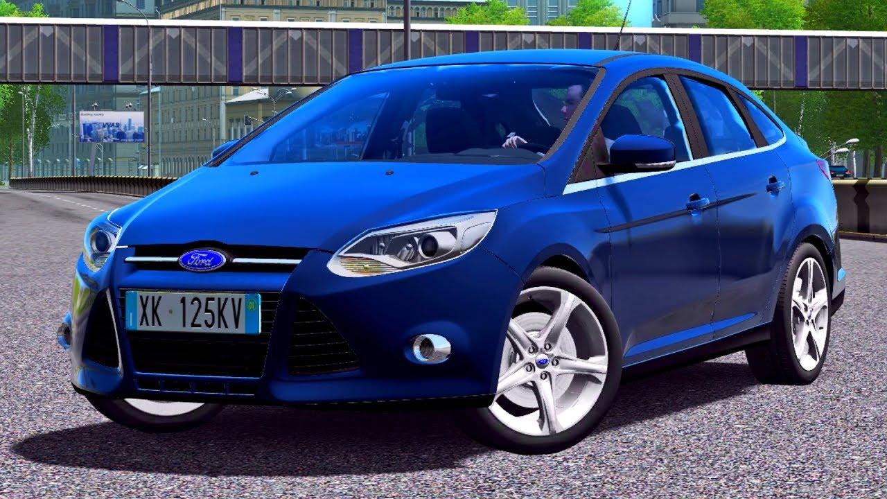 594526a0bca City Car Driving 1.5.4 Ford Focus 3 Sedan - G27 HD [1080p][60fps ...