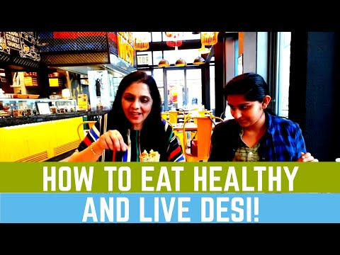 HOW TO EAT HEALTHY AND LIVE DESI! | ROTI ROLLERS DXB | RIPPLEZZ RAVENOUZZ REVIEWZZ