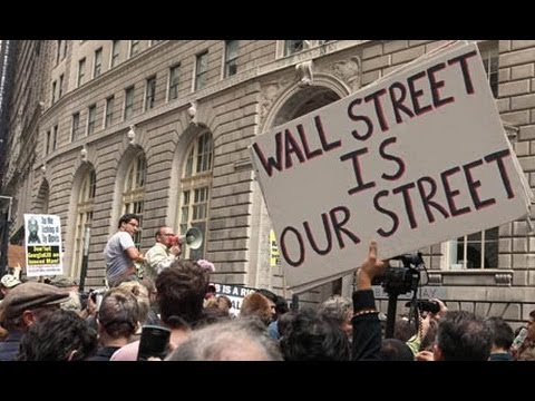 LIVE from Occupy Wall Street: Talking with an #OccupyWallStreet Organizer