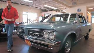 1964 Pontiac GTO 389 Tripower for sale with test drive, driving sounds, and walk through video